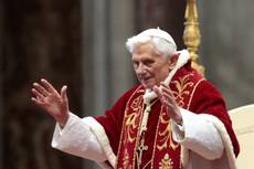 Pope says has requested conclave