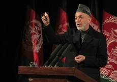 Karzai asks new pope to pursue inter-religious dialogue
