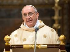 Pope Francis calls for compassion toward failed marriage