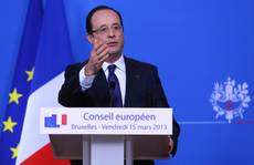 EU must learn from Italy's election, says Hollande