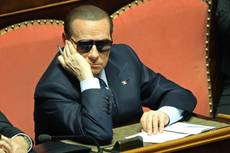 Berlusconi vows battle over next president