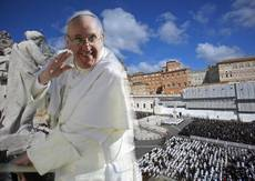 New pope exhorts diplomats to work for peace