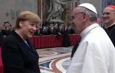 Merkel to meet pope May 18