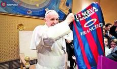 Pope pays 'religiously' to remain member of soccer club