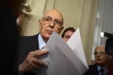 Napolitano: resto fino all'ultimo giorno, aspetto proposte da due gruppi ristretti
