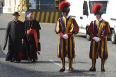 Still 'no rush' after day three of pre-conclave talks