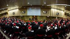 Cardinals set for busy day of pre-conclave talks