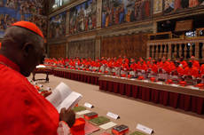 Next pope will need at least 77 conclave votes