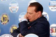 Berlusconi's eye problem worsens, taken to hospital