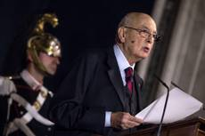 Napolitano, Italy's first president to be re-elected