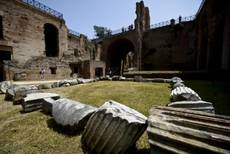 Medieval area of Roman Imperial Forum uncovered