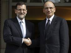 Letta stresses focus on young after Rajoy meeting