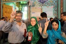 Iran, spoglio al 20%, Rohani sfonda 50%