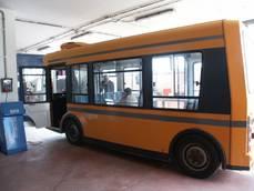 All'Aquila bus elettrico a chiamata