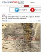 Italian writes anti-Islam graffiti on Palace of the Popes