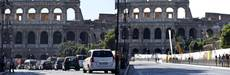 Canadian student stopped after stealing rock from Colosseum