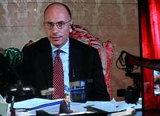 Letta puts govt's future in parliament's hands