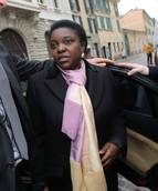 Italy's integration minister target of racist slurs