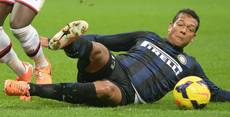 Soccer: Guarin skips Inter training after aborted Juve move