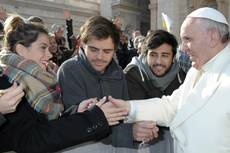 Jesus is close to sinners, says pope