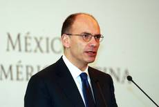 Letta says fall in debt shows country on right fiscal path