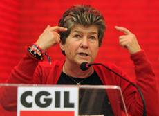 Cgil trade union meeting in Milan ends up in slaps, shoves