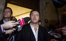 'I do not give up' on election reform, tweets Renzi