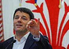 Renzi lays down markers for govt reform pact