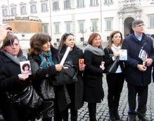 Camorra 'killed our kids' mothers tell president
