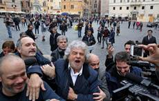 Grillo says M5S out of parliament under new electoral system