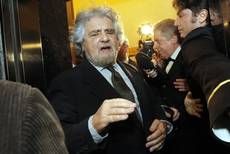 Grillo says 'coup' taking place in Italy