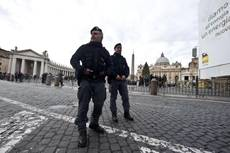 Bomb alert in St Peter's Square called off