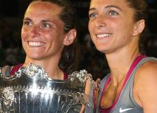 Errani-Vinci snag fourth grand slam title in Australia