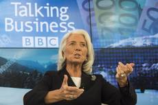 IMF's Lagarde alarmed at youth unemployment in Italy