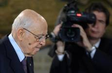 Napolitano 'worried' about chaos in parliament