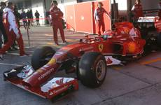 F1: First test drive for Ferrari F14