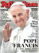 Pope makes Rolling Stone cover