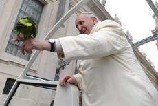 Pope Francis woos 87.1% of Italians