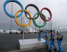 Sport: Sochi threats 'groundless' says Russia