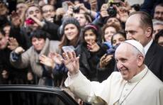 Francis gets back to basics in first Xmas as Pope