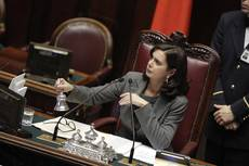 Italy's House Speaker breaks filibuster, first time ever