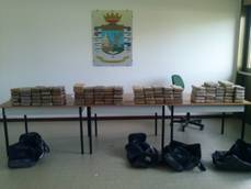 Police seize 230 kg of cocaine in Italian port city