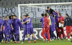 Soccer: Fiorentina are first Italian Cup finalists