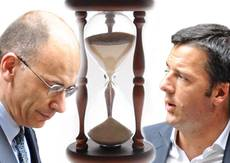 Premier Letta meets Renzi, crunch hours for government