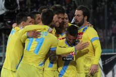 Soccer: Napoli thrash Roma, set up Cup final with Fiorentina