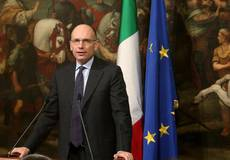 'Governments must be born in parliament' says Letta