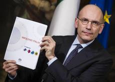 Resolute Letta puts ball in Renzi's court