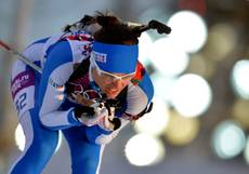 Olympics: Italy take bronze in biathlon mixed relay