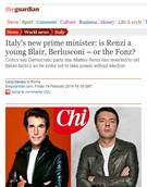 British dailies liken Renzi to Fonzie