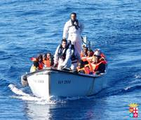 Two corpses on migrant boat rescued near Lampedusa